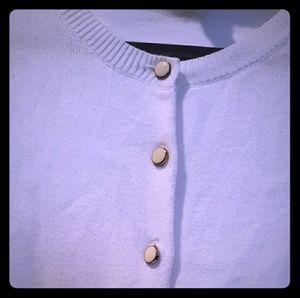 Banana Republic white cardigan button down